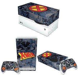 KIT Xbox Series S Skin e Capa Anti Poeira - X-Men Comics