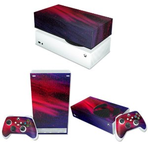 KIT Xbox Series S Skin e Capa Anti Poeira - Abstrato #101