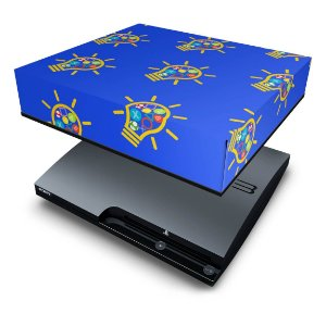 PS3 Slim Capa Anti Poeira - Personalizada
