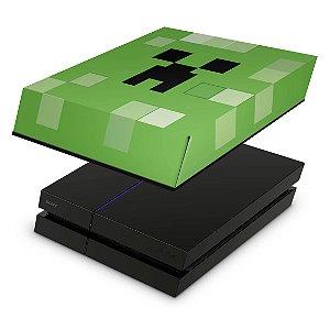 PS4 Fat Capa Anti Poeira - Creeper Minecraft