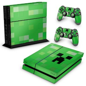 PS4 Fat Skin - Creeper Minecraft