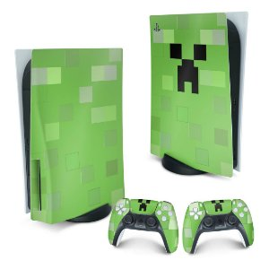PS5 Skin - Creeper Minecraft