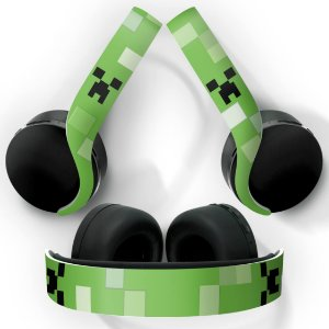 PS5 Skin Headset Pulse 3D - Creeper Minecraft