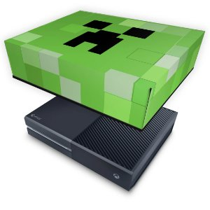 Xbox One Fat Capa Anti Poeira - Creeper Minecraft