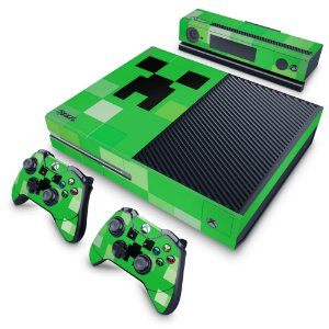 Xbox One Fat Skin - Creeper Minecraft