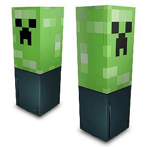 Xbox Series X Capa Anti Poeira - Creeper Minecraft