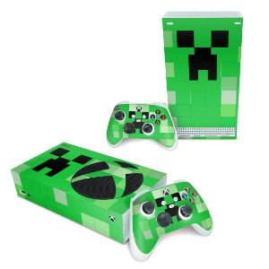 Xbox Series S Skin - Creeper Minecraft
