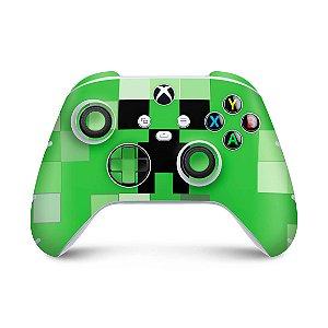 Xbox Series S X Controle Skin - Creeper Minecraft