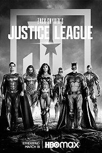 Poster Liga da Justiça Zack Snyder B