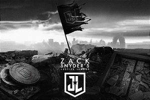Poster Liga da Justiça Zack Snyder E
