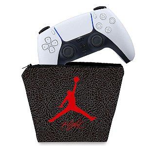 Capa PS5 Controle Case - Jordan Flight