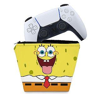 Capa PS5 Controle Case - Bob Esponja