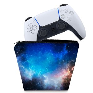 Capa PS5 Controle Case - Universo Cosmos