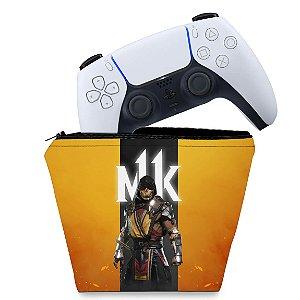 Capa PS5 Controle Case - Mortal Kombat 11