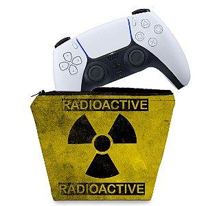 Capa PS5 Controle Case - Radioativo
