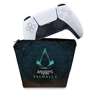 Capa PS5 Controle Case - Assassin's Creed Valhalla