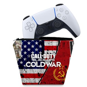 Capa PS5 Controle Case - Call Of Duty Cold War
