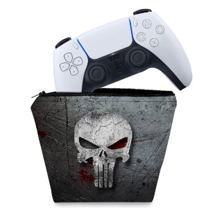 Capa PS5 Controle Case - The Punisher Justiceiro