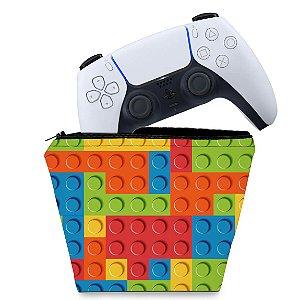 Capa PS5 Controle Case - Lego Peça