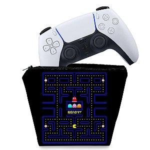 Capa PS5 Controle Case - Pac Man