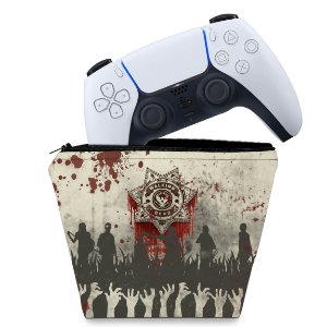 Capa PS5 Controle Case - The Walking Dead
