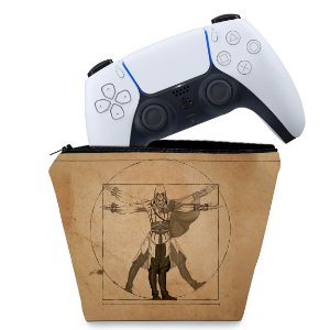 Capa PS5 Controle Case - Assassin'S Creed Vitruviano