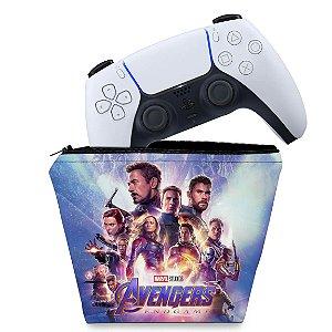Capa PS5 Controle Case - Vingadores Ultimato Endgame