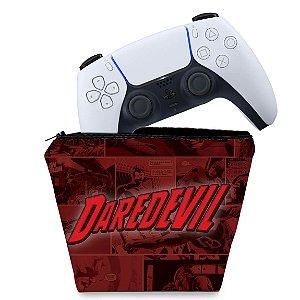 Capa PS5 Controle Case - Daredevil Demolidor Comics