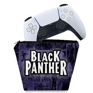 Capa PS5 Controle Case - Pantera Negra Comics