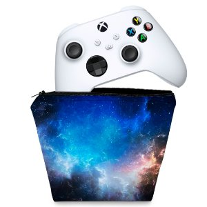 Capa Xbox Series S X Controle Case - Universo Cosmos