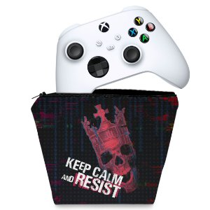 Capa Xbox Series S X Controle Case - Watch Dogs Legion