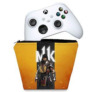 Capa Xbox Series S X Controle Case - Mortal Kombat 11