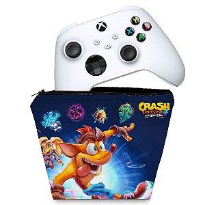 Capa Xbox Series S X Controle Case - Crash Bandicoot 4