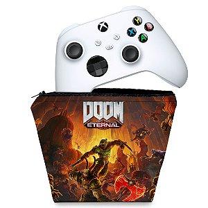 Capa Xbox Series S X Controle Case - Doom Eternal