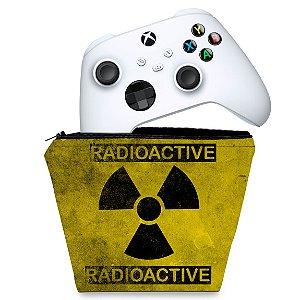 Capa Xbox Series S X Controle Case - Radioativo