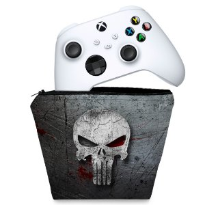 Capa Xbox Series S X Controle Case - The Punisher Justiceiro