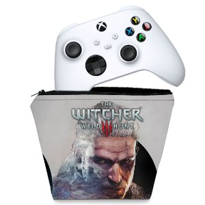 Capa Xbox Series S X Controle Case - The Witcher 3
