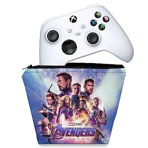 Capa Xbox Series S X Controle Case - Vingadores Ultimato Endgame