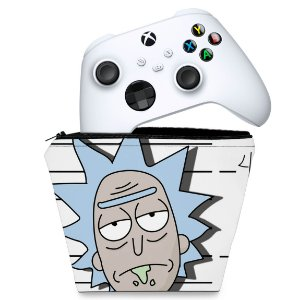 Capa Xbox Series S X Controle Case - Rick And Morty