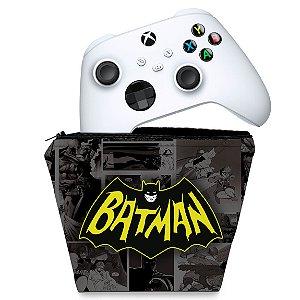 Capa Xbox Series S X Controle Case - Batman Comics