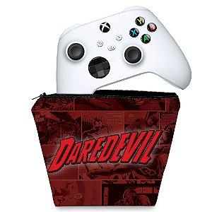 Capa Xbox Series S X Controle Case - Daredevil Demolidor Comics