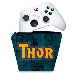 Capa Xbox Series S X Controle Case - Thor Comics