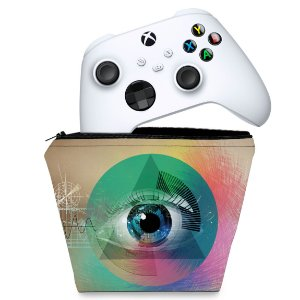 Capa Xbox Series S X Controle Case - Abstrato #89