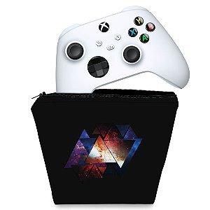 Capa Xbox Series S X Controle Case - Abstrato #90