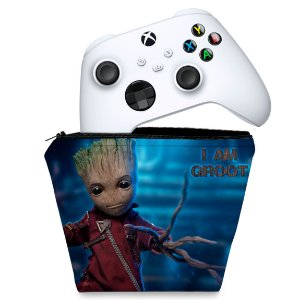 Capa Xbox Series S X Controle Case - Baby Groot