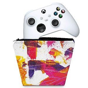Capa Xbox Series S X Controle Case - Abstrato #103