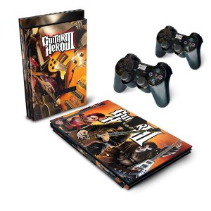 PS2 Slim Skin - Guitar Hero III 3