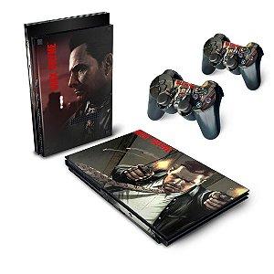 PS2 Slim Skin - Max Payne