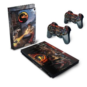 PS2 Slim Skin - Mortal Kombat