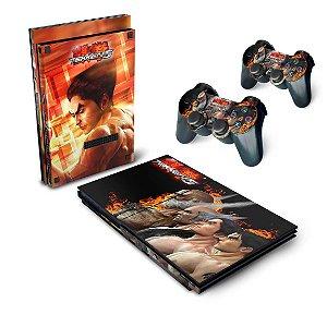 PS2 Slim Skin - Tekken 5